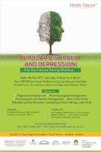 Bipolar disorder and depression.