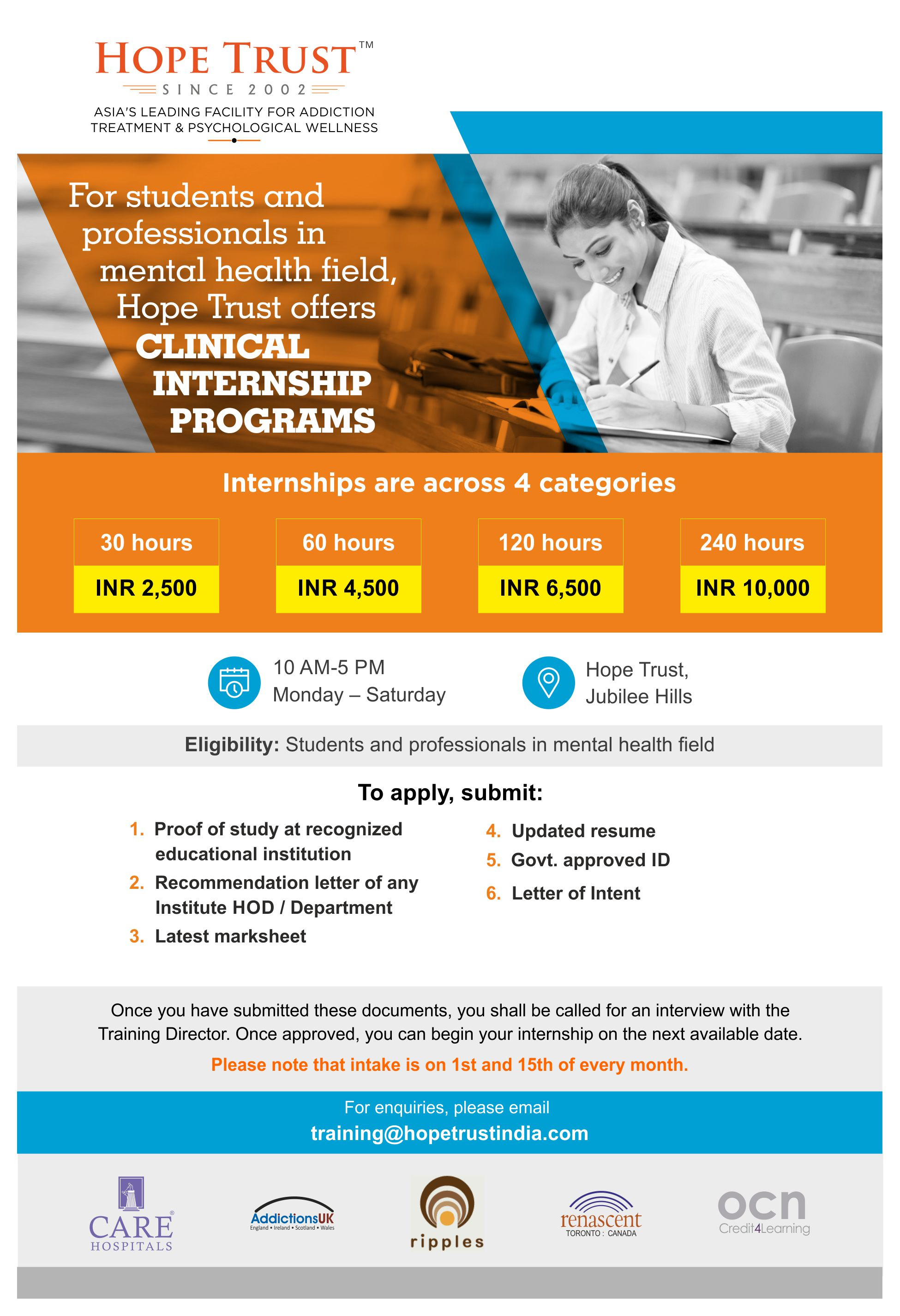 Clinical Internship Program